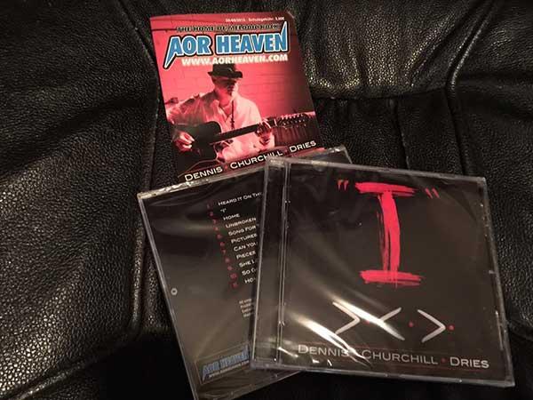 Dennis Churchill Dries I released on AOR Heaven June 1, 2015