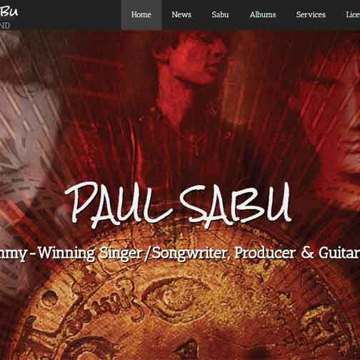 Paul Sabu - New Website